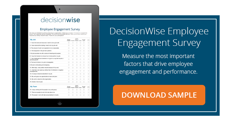 Employee Engagement Survey Sample Download