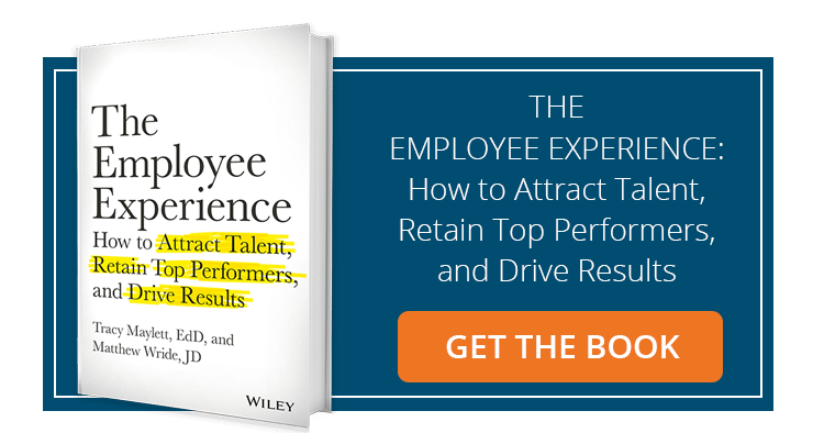 Get the book, The Employee Experience